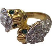 Collectable signed Ivana tiger ring