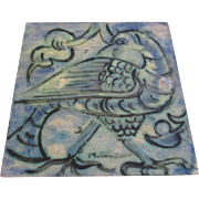 Collectable tile of a bird ( Austria Vienna )