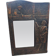 Copper blackened copper picture frame