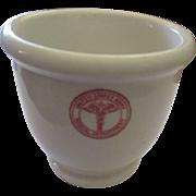 Vintage United States Army Medical Dept by Sterling China, shaving mug