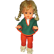 Collectible DREI-M-Puppe doll made in Germany