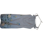 Gorgeous Marty Modell baby blue 1970's summer dress