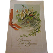 Victorian letter/Christmas card