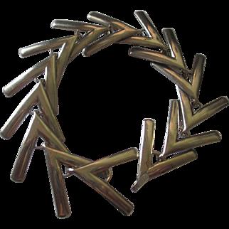 Vintage Brookcraft modernist bracelet