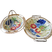 Vintage Ceramic Large Serving Dish set/ Japan