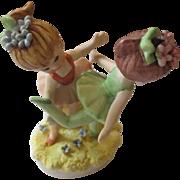 Collectible ceramic Lefton ballerina girls