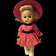 "Vintage Sweet Ginny Vogue 8"" doll walker, joint knees"
