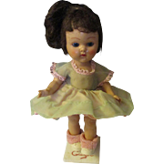 """Vintage 8"""" Vogue Ginny walker doll painted lashes"""