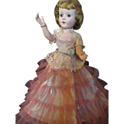 """Vintage 1950's American Character Sweet Sue 18"""" doll"""