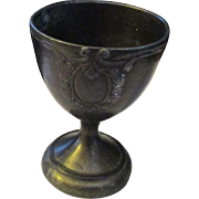 Vintage miniature wine goblet made in Japan