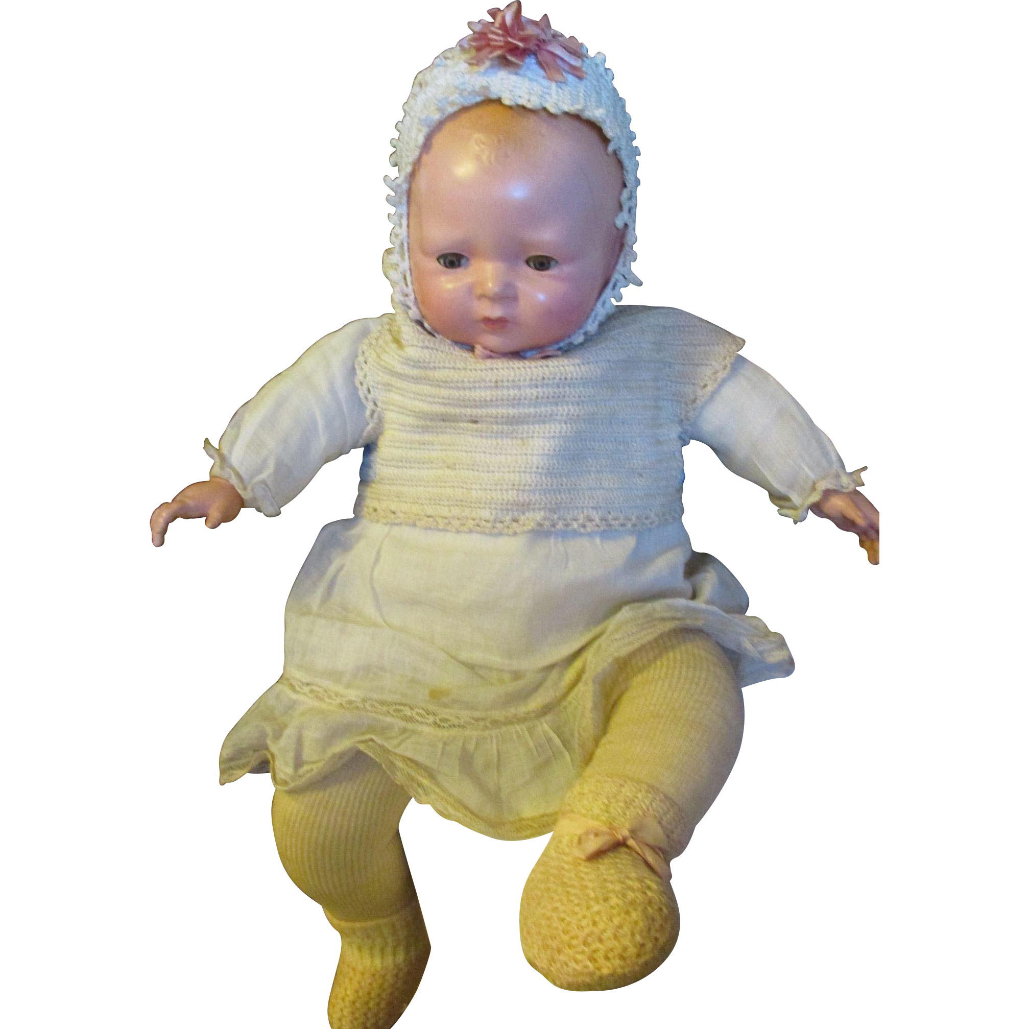 Antique Madame Hendren Lyf Lyk By Lo Baby Doll From Lea
