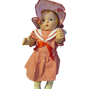 "Daisy Kingdom Inc 1991 17"" tall doll"