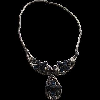 Vintage Van Dell Sterling silver necklace