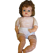 Vintage 1950's Baby Big Eyes by Ideal doll