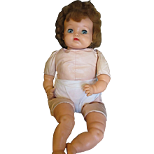 Vintage 1950's Baby Big Eyes by Ideal doll - Red Tag Sale Item