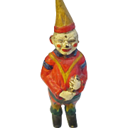 Vintage Jester Clown cast iron bank.
