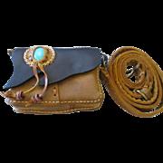 Nice leather southwestish style small purse