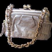 Authentic Coach Gold Metallic unused purse.