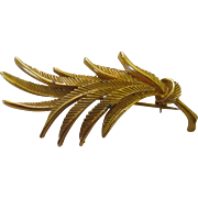Gold tone brooch by Spinx - 54