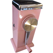 Vintage 1960's Retro Pink Magic Hostess ice crusher.