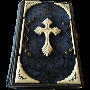Dated 1875 Catholic German Prayer book.