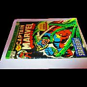 Vintage 1975 Captain Marvel 25 cent 40 Sept 02460