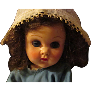 """Vintage Vogue 8"""" Ginny SLW, Doll Dutch outfit."""