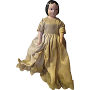 Vintage porcelain Ruth Gibbs Dollhouse doll. - Red Tag Sale Item