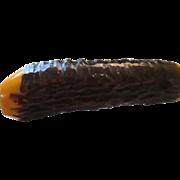 Vintage bakelite large carving fork.