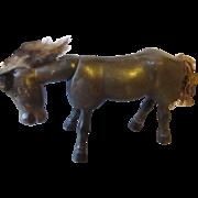 Earlier Schoenhut hand carved wood horse