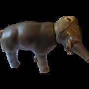 Schoenhut hand carved wooden elephant