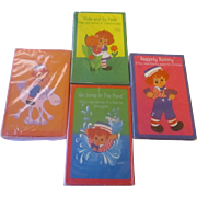 NIP x 4/ 1975 Raggedy Ann and Andy Card Games