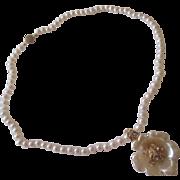 Nolan Miller faux pearl, necklace