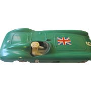 Vintage diecast green enamel Tenko Ferrari/Denmark