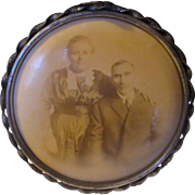 Early 1900's Collumbia Medallion Studios, Celluoid, metal frame