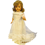 """Vintage 40's Effanbee 17"""" Little Lady Composition  Doll"""