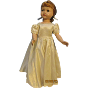"Vintage 1953 Honey Effanbee Walker 18"" Doll - Red Tag Sale Item"
