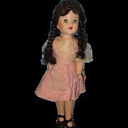 """Vintage 40-50's Dorthy look a like hard plastic 18"""" Doll"""
