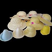 Vintage bonnet doll hats for the lot.
