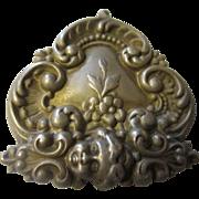 Art Nouveau sterling buckle