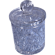 Polish 24K Lead Crystal from Irena Ginger Jar with Lid