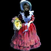"Royal Doulton ""Rare"" Lady Betty Lady Figurine HN1967 Harradine Classics 7.5 inches tall"
