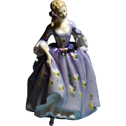 """Rare"" Royal Doulton Lady Figurine ""Nicola"" HN 2839 YOP 1977"