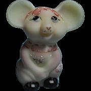 """Fenton Burmese Happy Mouse Nancy Fenton """"Special Bargain"""""""