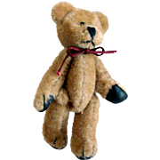 Tiny Jointed Bear for Doll