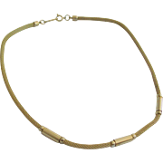 Whiting & Davis Mesh Necklace with Box