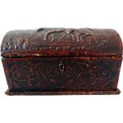 Antique Dome-Topped Keepsake/Document Box