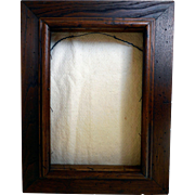 Vintage Deep Walnut Picture Frame, Could be Shadow Box