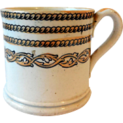 Early Child's Ironstone Lustreware Mug/Can