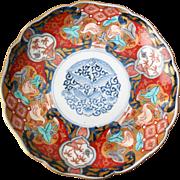 Antique Imari Plate, Fuki Chosan, Meiji (B)